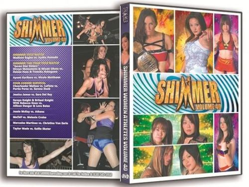 Shimmer - Woman Athletes - Volume 40 DVD