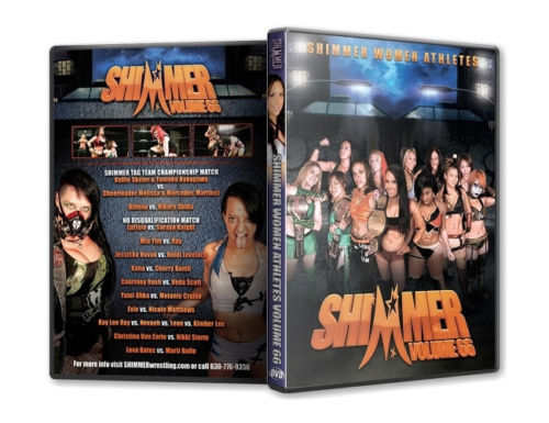 Shimmer - Woman Athletes - Volume 66 DVD