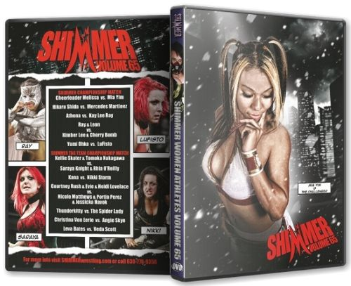 Shimmer - Woman Athletes - Volume 65 DVD