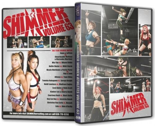 Shimmer - Woman Athletes - Volume 63 DVD