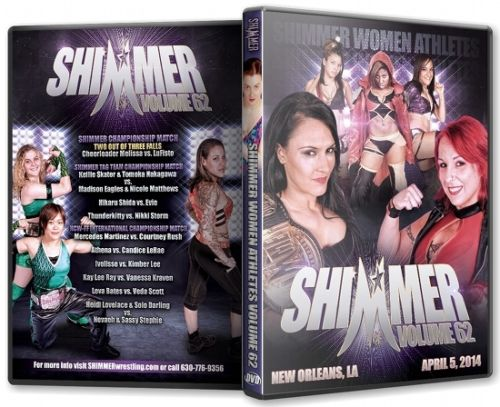 Shimmer - Woman Athletes - Volume 62 DVD