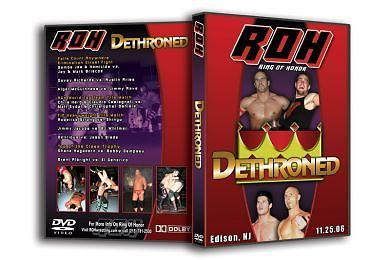 ROH - Dethroned 2006 Event DVD