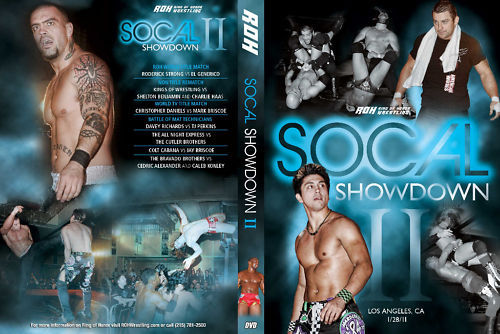 ROH - SoCal Showdown 2 2011 Event DVD (Pre-Owned)