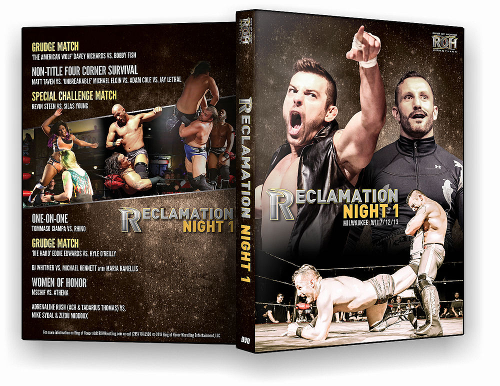 ROH - Reclamation Night 1 2013 Event DVD