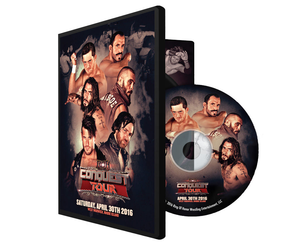 ROH - Conquest Tour 2016 West Warwick Event DVD