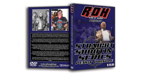 ROH - Straight Shootin with Percy Pringle DVD