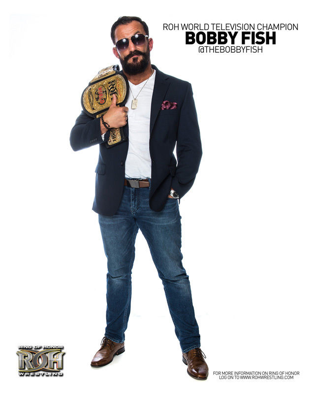 ROH - Bobby Fish 2016 UK Tour 8x10