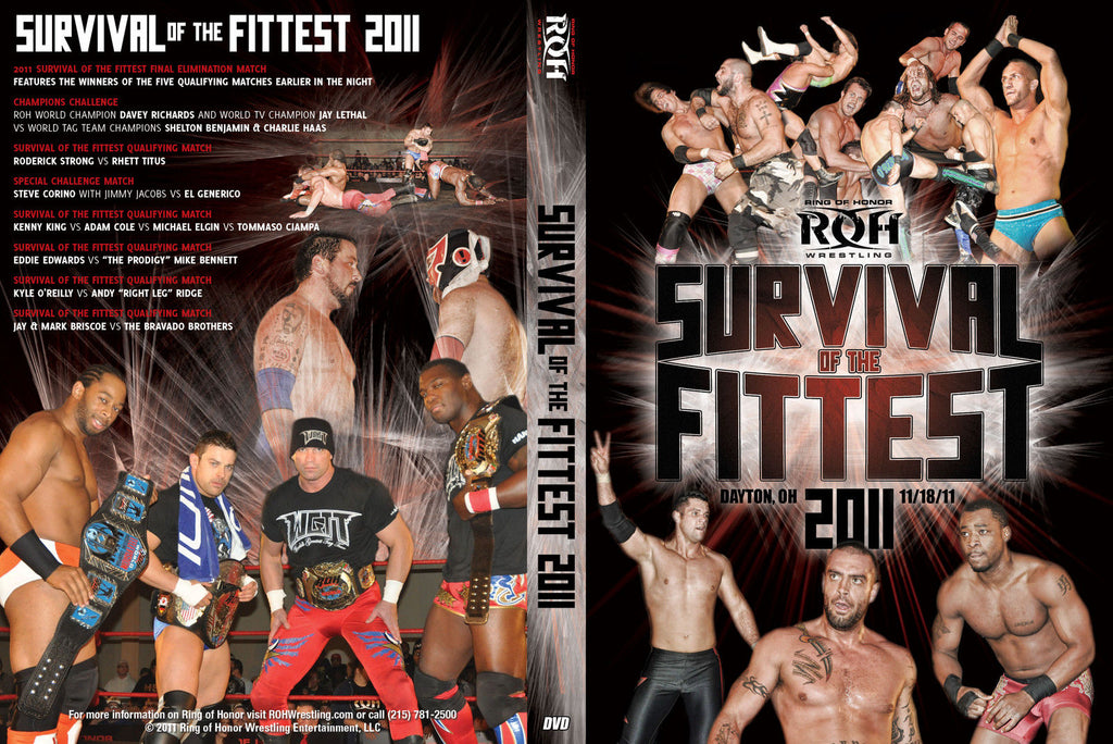 ROH - Survival of the Fittest 2011 Event DVD