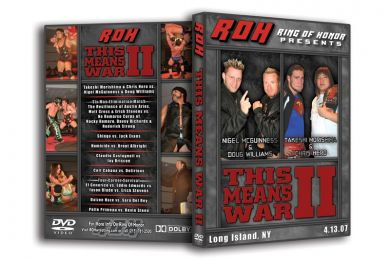ROH - This Means War 2 2007 Event DVD