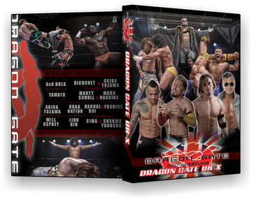 Dragon Gate UK. X Event DVD