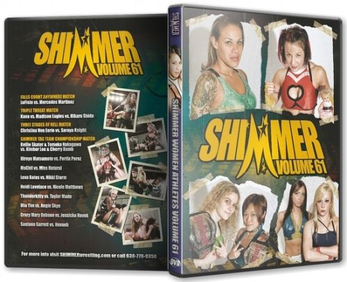 Shimmer - Woman Athletes - Volume 61 DVD