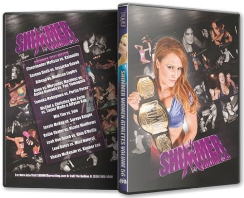 Shimmer - Woman Athletes - Volume 56 DVD