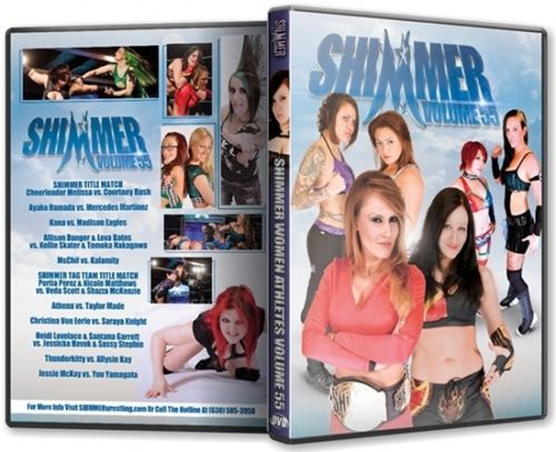 Shimmer - Woman Athletes - Volume 55 DVD