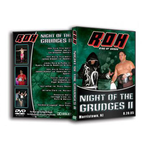 ROH - Night of the Grudges 2 2005 Event DVD (Pre-Owned)