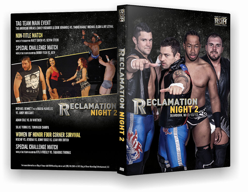 ROH - Reclamation Night 2 2013 Event DVD