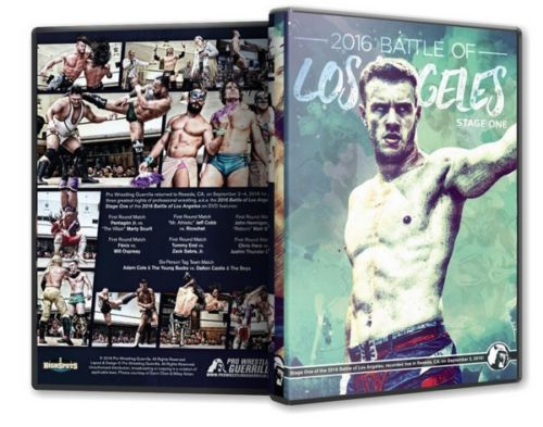 PWG - Battle of Los Angeles 2016 - Stage 1 Event Blu-Ray