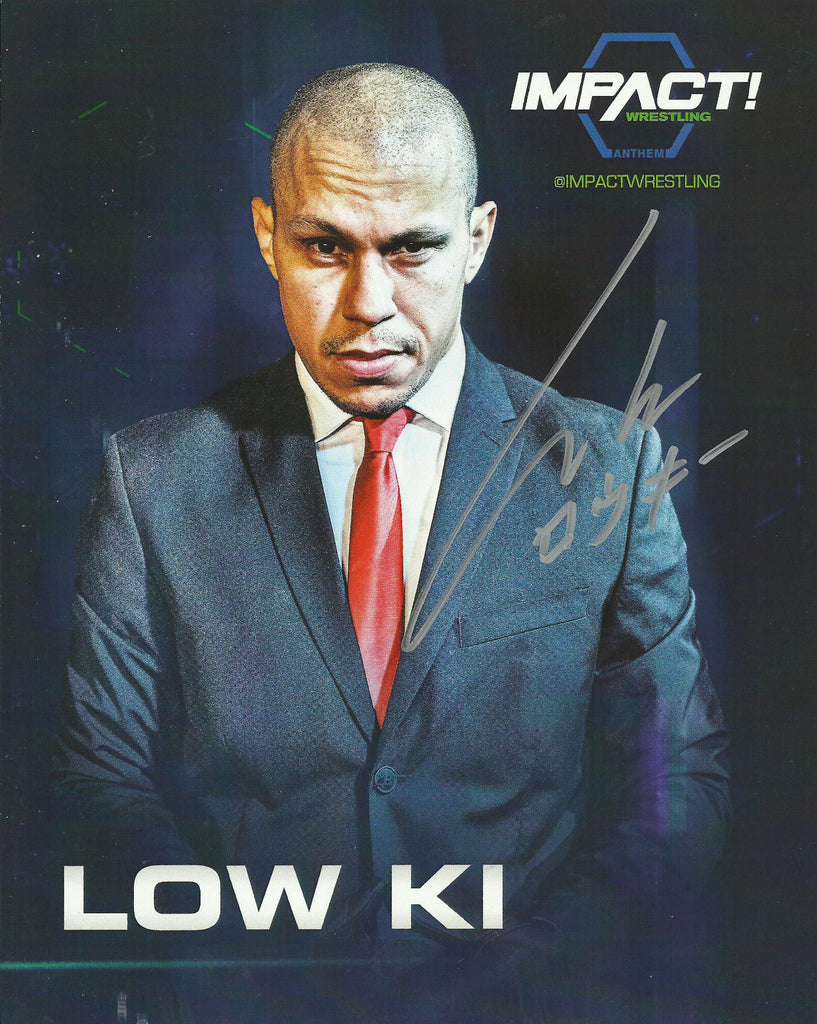 TNA / GFW Impact Wrestling Hand Signed Low Ki 8x10 Photo