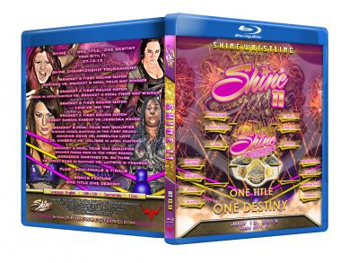 Shine Women Wrestling Volume 11 Blu-Ray