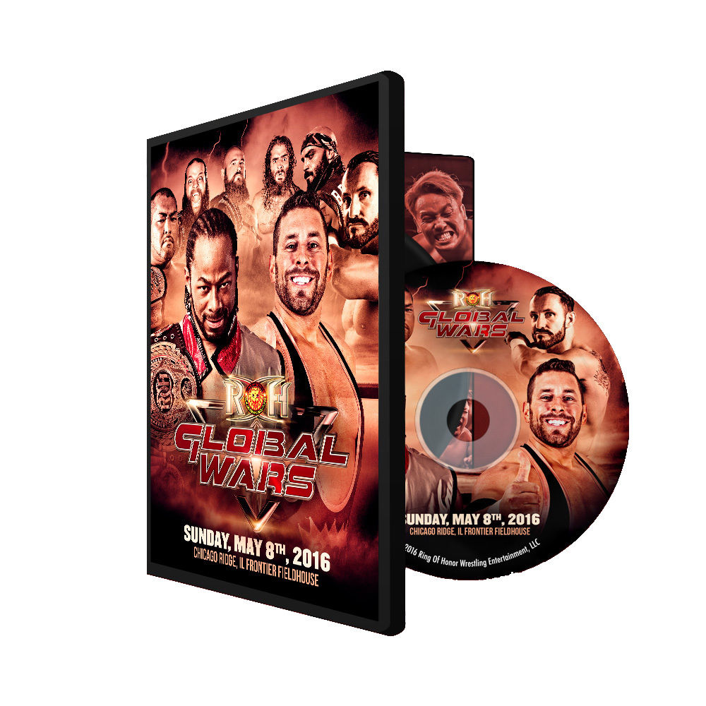 ROH / NJPW - Global Wars 2016 PPV Event DVD