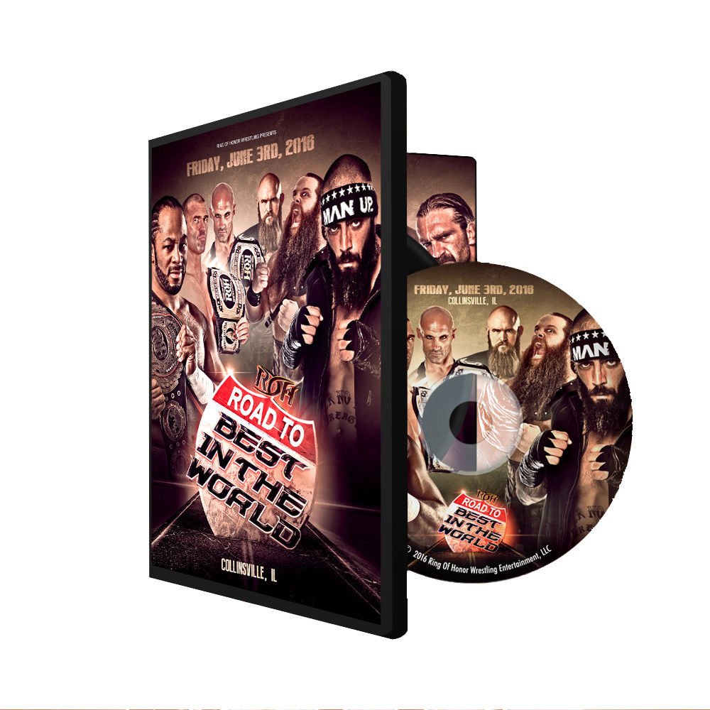 ROH - Road To BITW 16 : Collinsville 2016 Event DVD