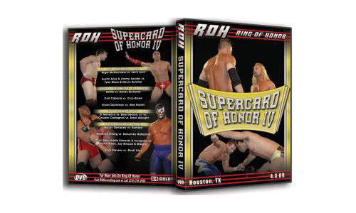 ROH - Supercard Of Honor 4 2009 Event DVD (Pre-Owned)