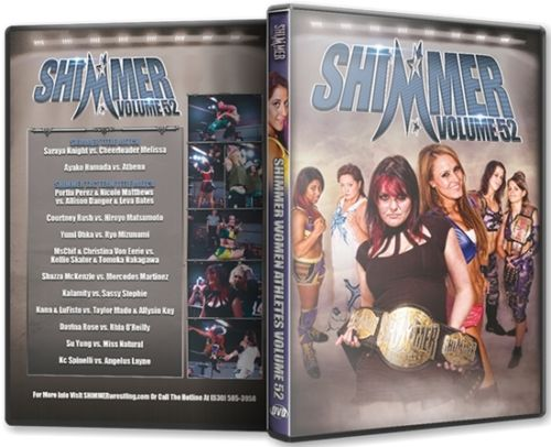 Shimmer - Woman Athletes - Volume 52 DVD