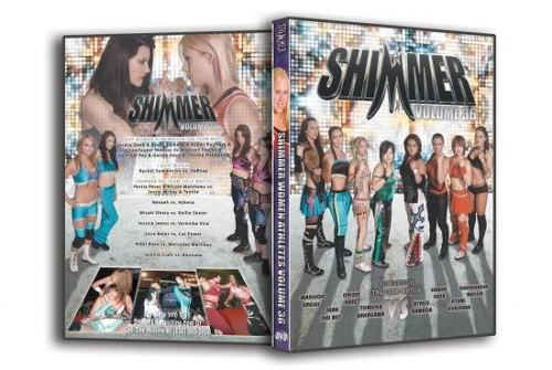 Shimmer - Woman Athletes - Volume 36 DVD