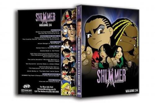 Shimmer - Woman Athletes - Volume 24 DVD