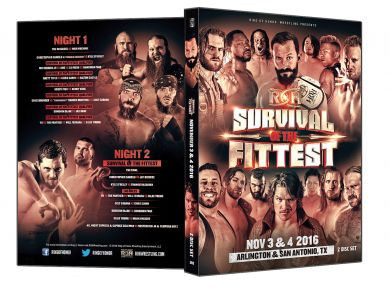 ROH - Survival of The Fittest 2016 Event DVD (2 Disc Set)