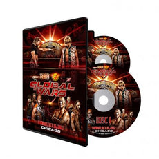 ROH/NJPW - Global Wars 2017: Chicago Event DVD (2 Disc Set)