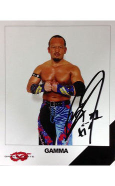 Signed Dragon Gate GAMMA 8x10 Picture