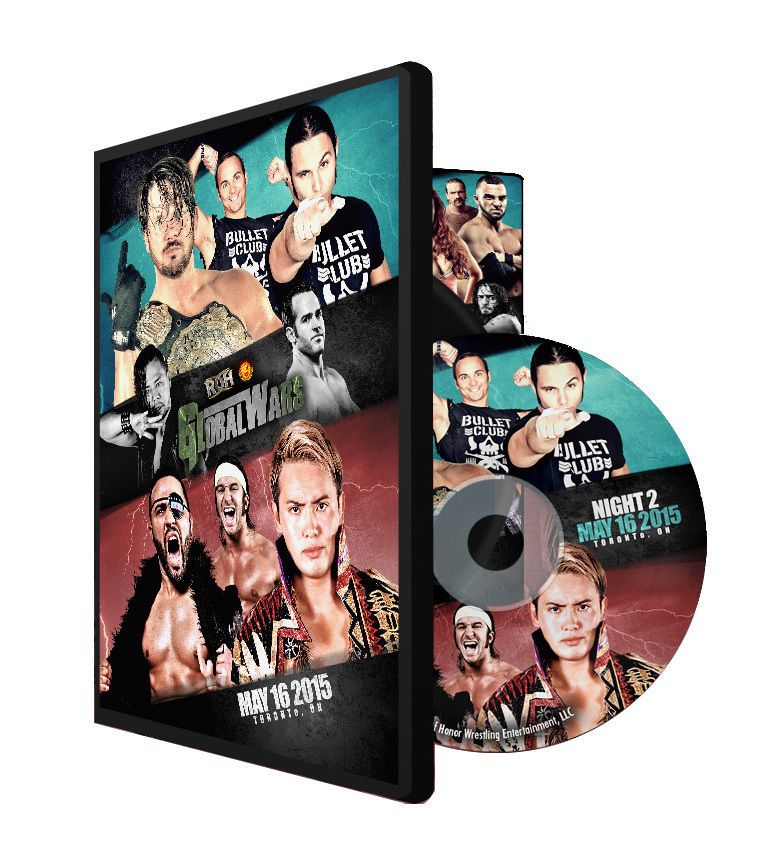 ROH / NJPW - Global Wars 2015 - Night 2 Event DVD