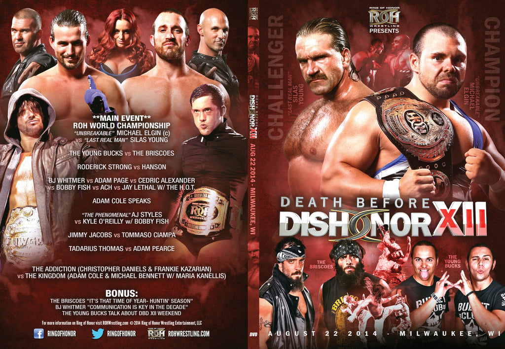 ROH - Death Before Dishonor XII - Milwaukee 2014 Event DVD