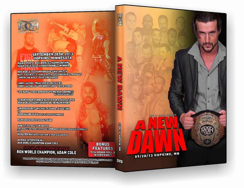 ROH - A New Dawn 2013 Event DVD