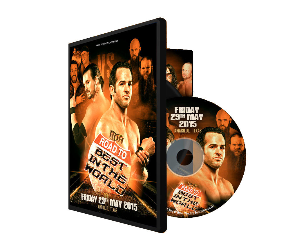 ROH - Road To BITW 2015 Amarillo Event DVD