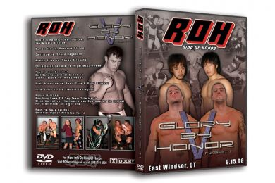 ROH - Glory By Honor 5 Night 1 2006 Event DVD (Pre-Owned)
