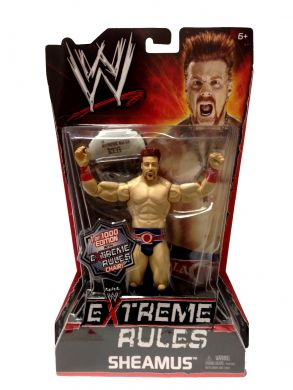 Mattel WWE Basic Series - Extreme Rules Sheamus 1 of 1000 with Chair Wrestling Action Figure