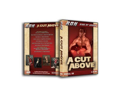 ROH - A Cut Above 2009 Event DVD (Pre-Owned)