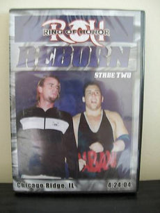 ROH - Reborn Stage Two 2004 Event DVD (Pre-Owned) Original Cover