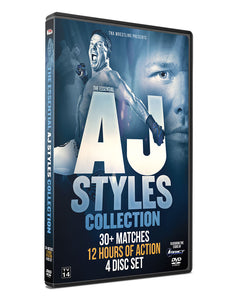 TNA - The Essential AJ Styles Collection (4 Disc Set) DVD