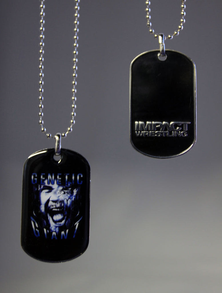 TNA - Matt Morgan Dog Tag