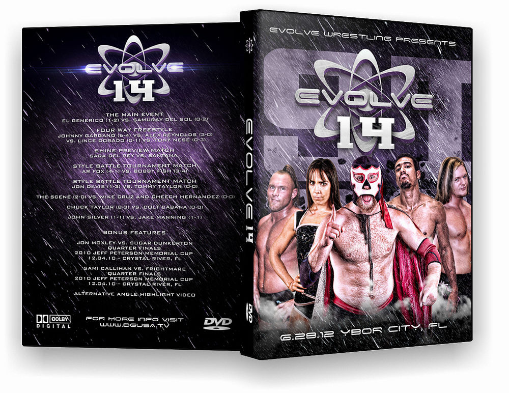 Evolve Wrestling - Volume 14 Event DVD