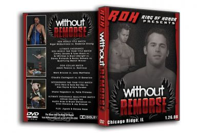 ROH - Without Remorse 2008 Event DVD ( Pre-Owned )
