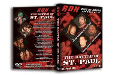 ROH - The Battle of St Paul 2007 Event DVD