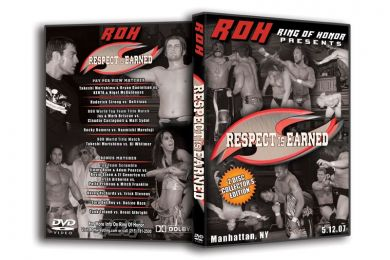ROH - Respect Is Earned 2007 Event DVD (Pre-Owned)