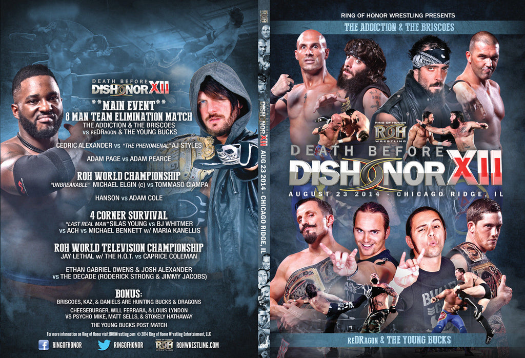 ROH - Death Before Dishonor XII - Chicago 2014 Event DVD
