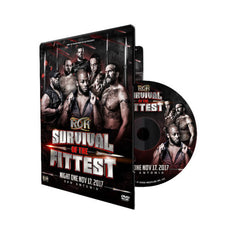 ROH - Survival Of The Fittest 2017 - Night 1 Event DVD