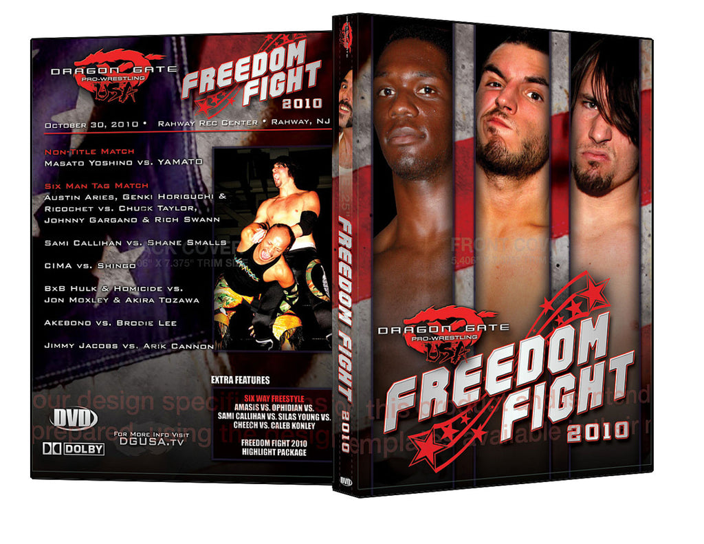 DGUSA - Freedom Fight 2010 DVD