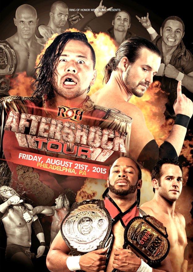 ROH - Aftershock Tour 2015 - Philadelphia Event DVD