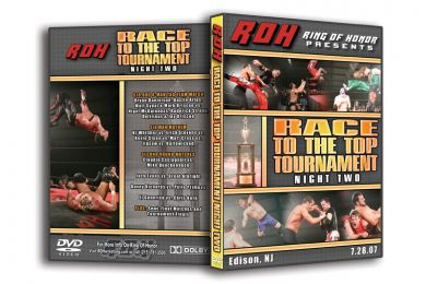ROH - Race To The Top Tournament Night Two 2007 Event DVD (Pre-Owned)